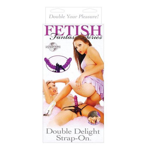 Fetish Fantasy Series Double Delight Strap On