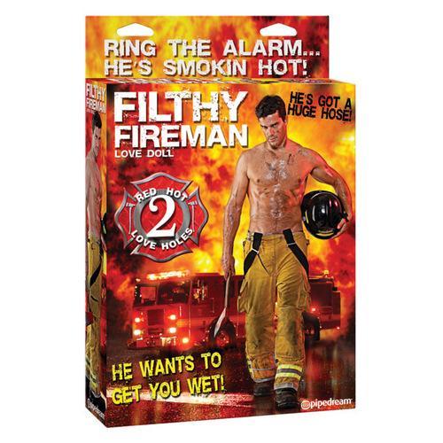 Filthy Fireman Doll - Flesh