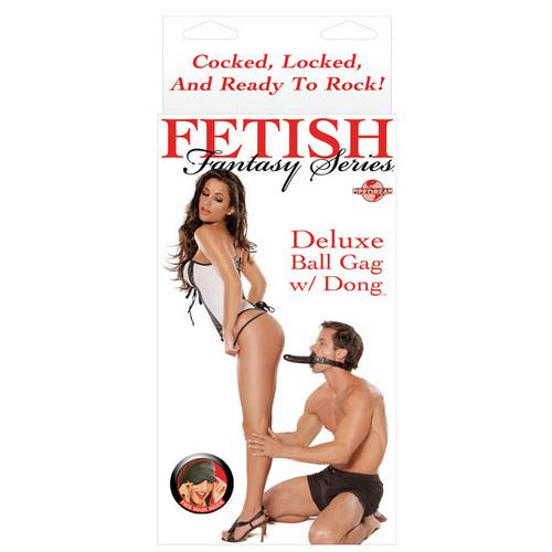 Fetish Fantasy Series Deluxe Ball Gag w/Dong