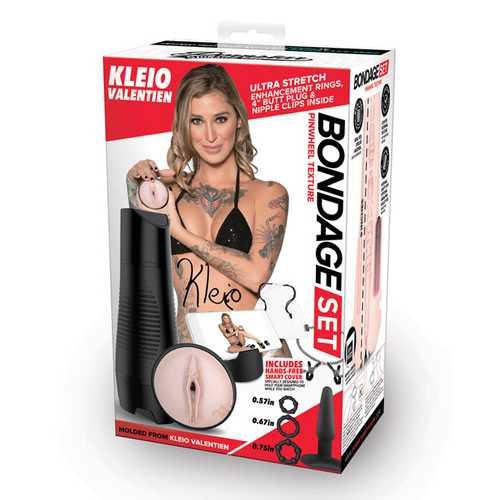 Pornstar Signature Series Kleio Valentien Bondage Stroker Set - Flesh