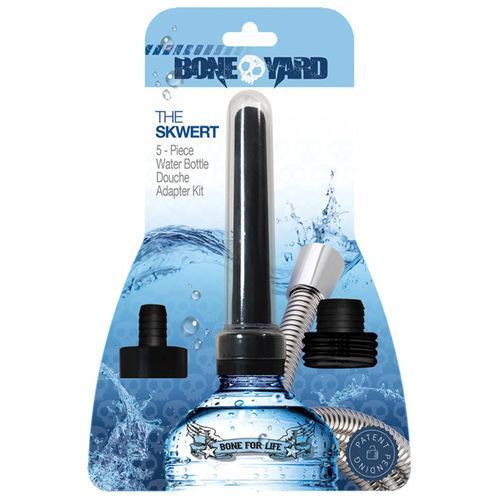 Boneyard Skwert 5 pc Water Bottle Douche Adaptor Kit