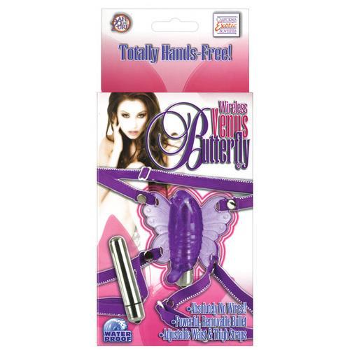 Wireless Venus Butterfly - Purple