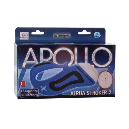 Apollo Alpha Stroker 2 - Blue Vagina