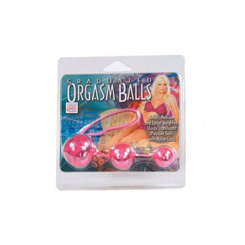 Graduated Orgasm Balls - Pink