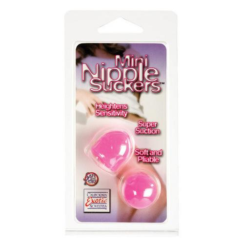 Nipple Play Mini Nipple Suckers - Pink