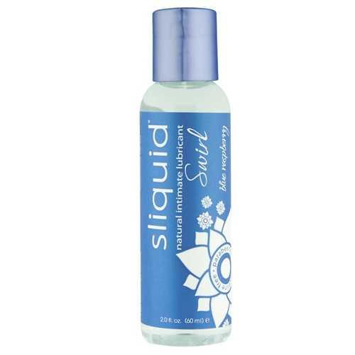 Sliquid Naturals Swirl Lubricant - 2 oz Blue Raspberry