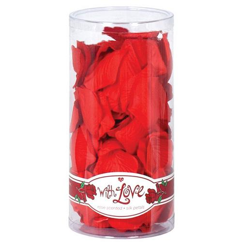 TLC With Love Rose Scented Silk Petals - Red