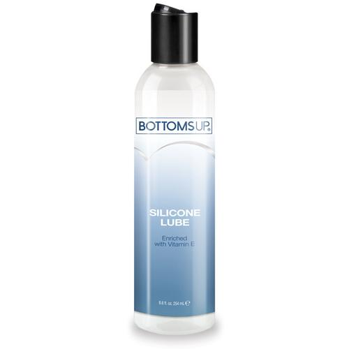 Bottoms Up Silicone Lube w/Vitamin E - 8.6 oz Clear