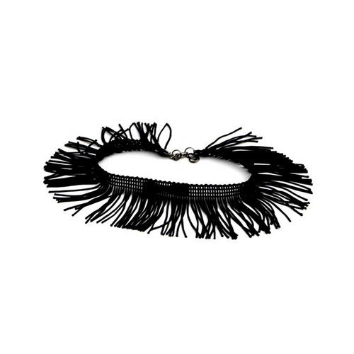 Tyes by Tara Fringe w/Benefits Bowtye - Black