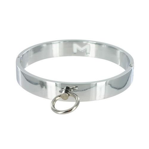 Master Series Chrome Slave Collar SM