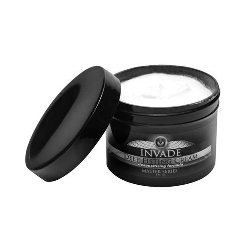 Master Series Invade Deep Fisting Cream - 8 oz White