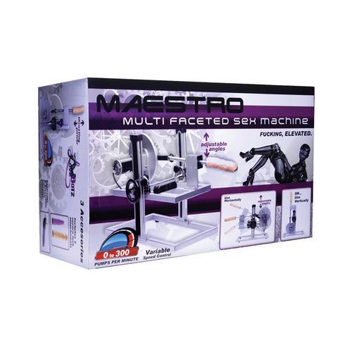 Lovebotz Maestro Multi-Faceted Sex Machine