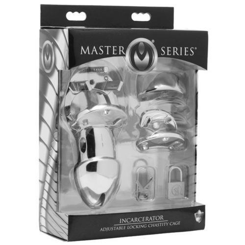 Master Series Incarcerator Adjustable Locking Chastity Cage