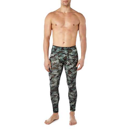 2XIST Performance Legging Green Camo LG