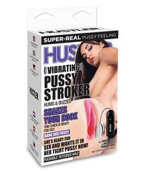 Hustler Sasha Grey Vibrating Pussy Stroker - Flesh