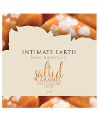 Intimate Earth Oil Foil - 3ml Salted Caramel