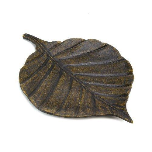 Avery Leaf Decorative Tray (pack of 1 EA)