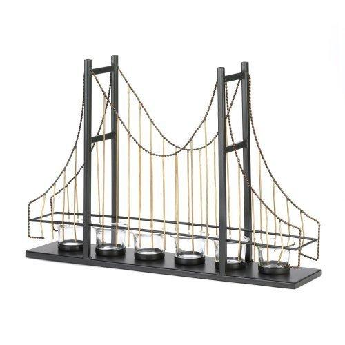Golden Gate Bridge Candleholder (pack of 1 EA)
