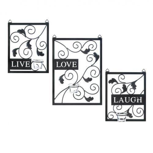 Live Love Laugh Wall Decor (pack of 1 SET)