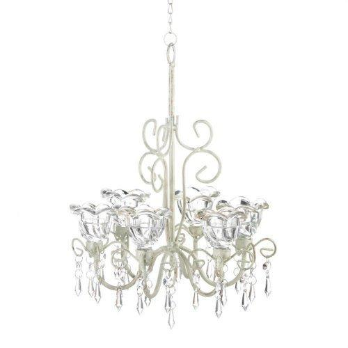 Crystal Blooms Candle Chandelier (pack of 1 EA)