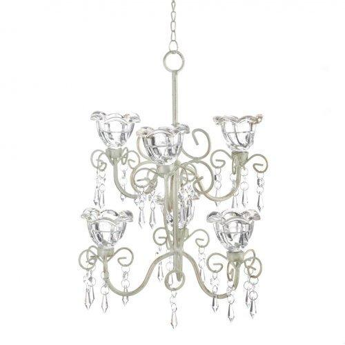 Crystal Blooms Double Chandelier (pack of 1 EA)