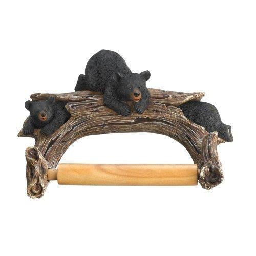 Black Bear Toilet Paper Holder (pack of 1 EA)
