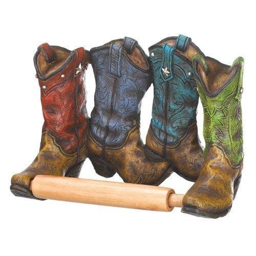 Cowboy Boots Toilet Paper Holder (pack of 1 EA)