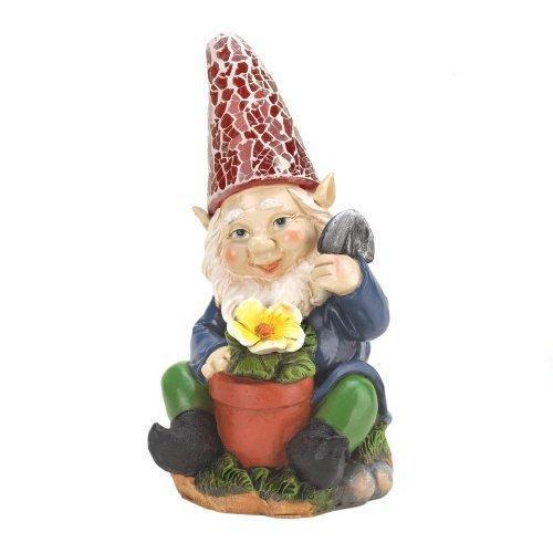 Gardening Gnome Solar Statue (pack of 1 EA)