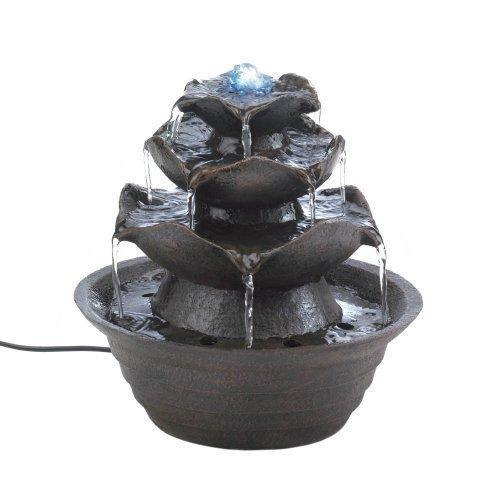 Lotus Tabletop Water Fountain (pack of 1 EA)