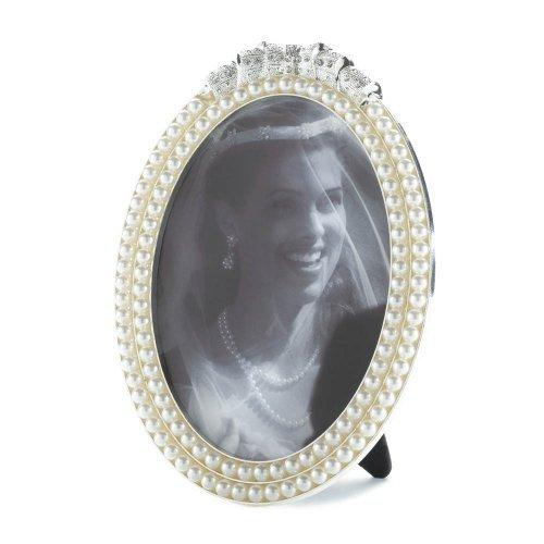 Strands Of Pearl Photo Frame 5x7 (pack of 1 EA)