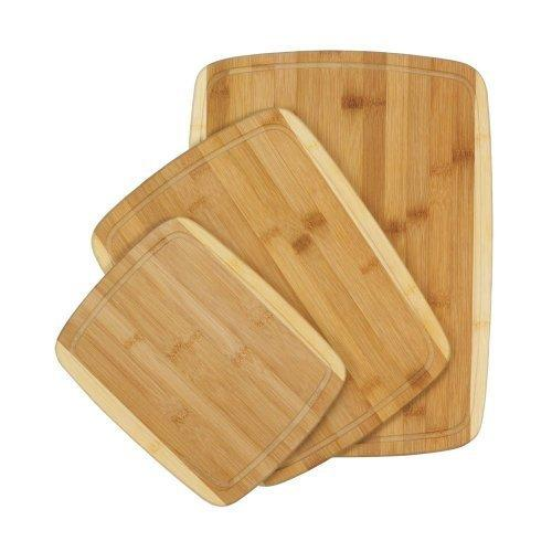 Bamboo Cutting Boards Trio (pack of 1 SET)
