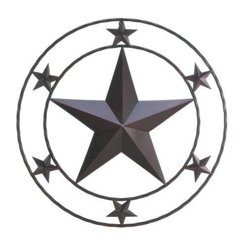 Texas Star Wall Decor (pack of 1 EA)