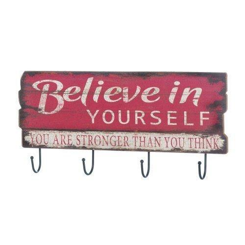 Believe In Yourself Wall Hook (pack of 1 EA)