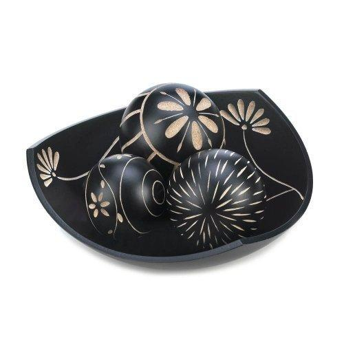Artisan Tri-point Bowl Decorative Balls (pack of 1 SET)