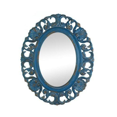 Vintage Belle Blue Mirror (pack of 1 EA)