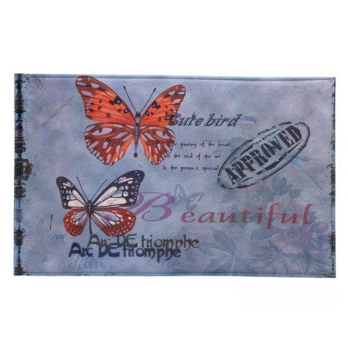 Artistic Butterfly Floor Mat (pack of 1 EA)