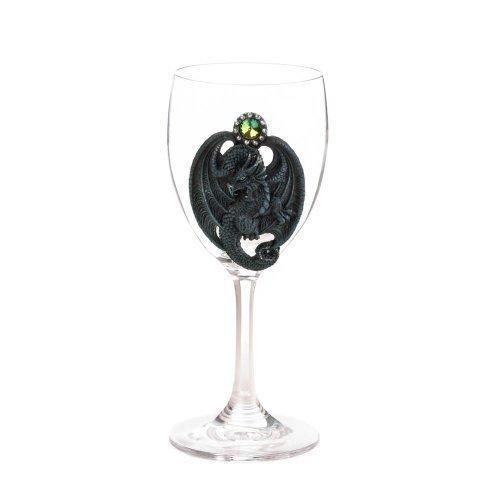 Blue Dragon Glass Goblet (pack of 1 EA)