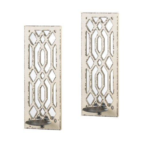 Deco Mirror Wall Sconce Set (pack of 1 SET)