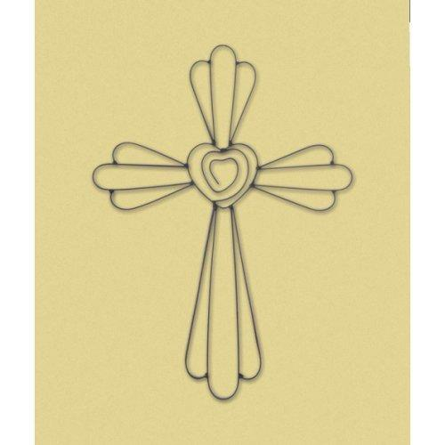 Faith And Love Wall Cross (pack of 1 EA)