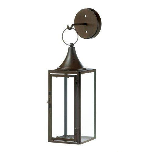 Gatehouse Hanging Candle Lantern (pack of 1 EA)
