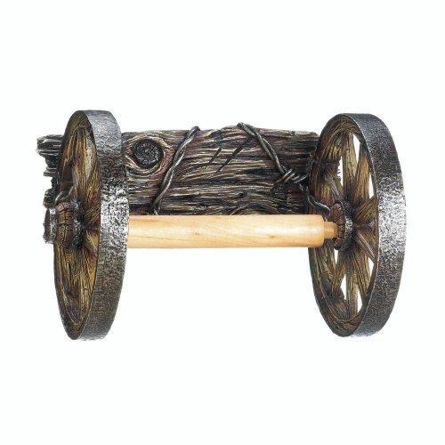 Wagon Wheel Toilet Paper Holder (pack of 1 EA)