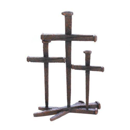 Cross Of Nails Trio Decor (pack of 1 EA)
