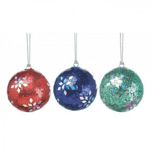 Holiday Dazzle Ornament Trio (pack of 1 SET)