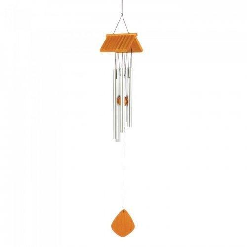 Log Cabin Roof Wind Chime (pack of 1 EA)