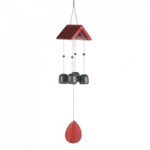 Birdhouse Roof Windchime (pack of 1 EA)
