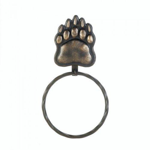 Iron Bear Paw Towel Ring (pack of 1 EA)