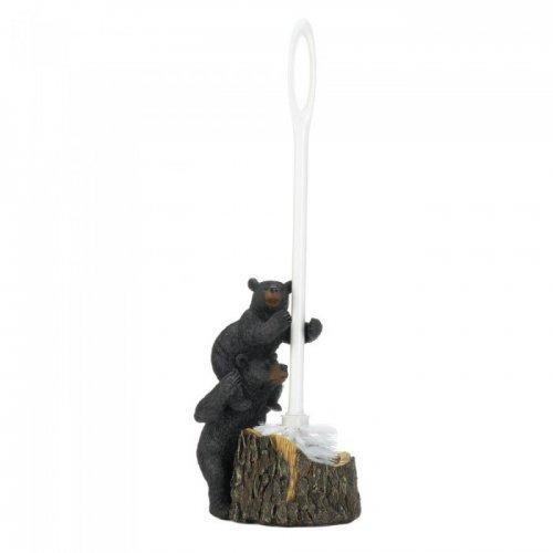 Bear Family Toilet Brush Holder (pack of 1 EA)