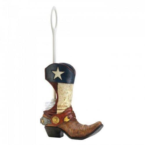 Cowboy Boot Toilet Brush Holder (pack of 1 EA)