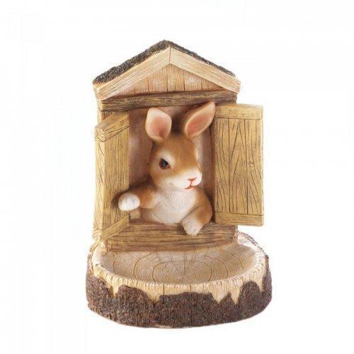 Bunny Wall Hanging Bird Feeder (pack of 1 EA)
