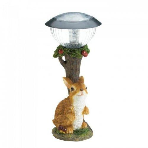 Rabbit Solar Garden Path Light (pack of 1 EA)